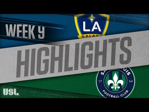 LA Galaxy 2 - Saint Louis FC 6:3. Видеообзор матча 10.05.2018. Видео голов и опасных моментов игры