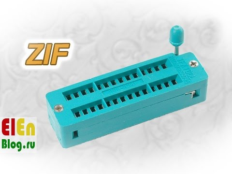 ZIF панель (DIP с нулевым усилием)
