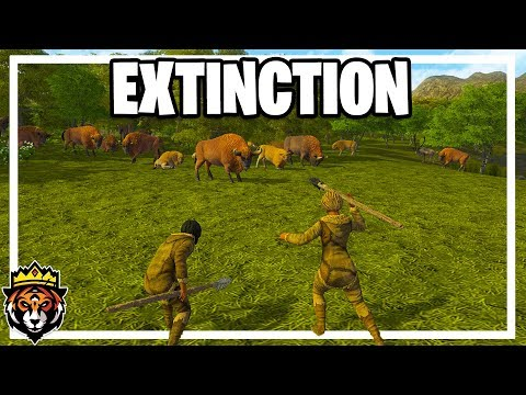 Hunting Animals to Extinction in Dawn of Man Gameplay Ep 7