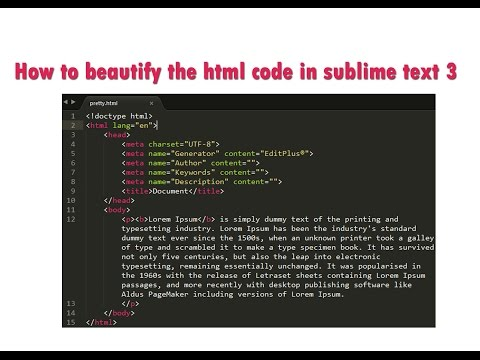 mp4 Html Code Beauty, download Html Code Beauty video klip Html Code Beauty