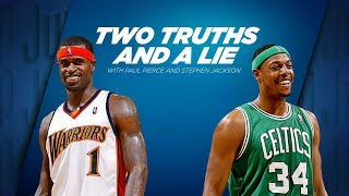 Paul Pierce Plays Two Truths And A Lie With Stephen Jackson | ESPN