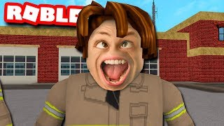 These ROBLOX FIREFIGHTERS Did NOT Expect Me To Do This...