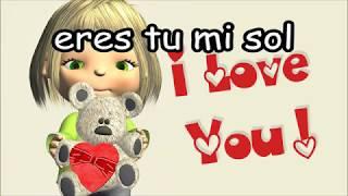 Canción para mamá Preescolar Primaria Te quiero a tí LETRA