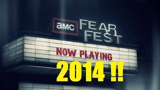 AMC Fear Fest 2014 starts this weekend! Full Schedule and Thoughts!!
