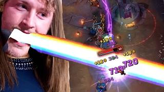 LASER POWER !!!   Lux Midlane [edit. Gameplay] [GER]