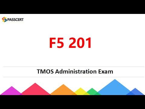 F5 201 - TMOS Administration Exam Dumps - YouTube