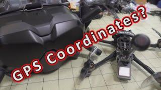 GPS Coordinates on DJI FPV OSD... Useful or Useless? ????