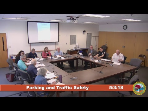 Parking and Traffic Safety Committee 5.3.2018