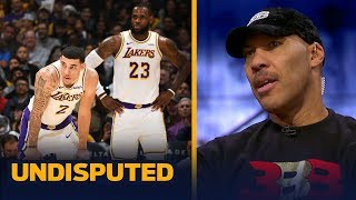 LaVar Ball: 'LeBron without Lonzo is not going to win a championship in LA' | NBA | UNDISPUTED