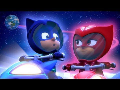 PJ Masks Full Episodes Season 2 Moonstruck 🚀 PJ Rocket! ⭐️ Super Moon Adventure | PJ Masks Official