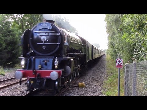 LNER 60163 'Tornado' at speed with 'The Severn Valley Ventur…