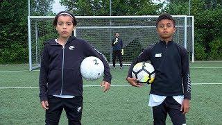SHANE KLUIVERT vs RAYANE BOUNIDA | FOOTBALL CHALLENGE