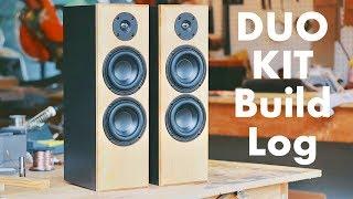 DIY Speaker Build Log: The KMA DUO KIT || KMA + Parts Express Build Kit?