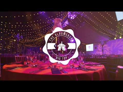 Our Venue: Christmas at The Bloomsbury Big Top