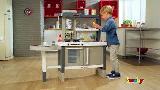 Virtuvėlė su stalu ir priedais 40 vnt. | Tefal Evolutive Kitchen | Smoby 312300