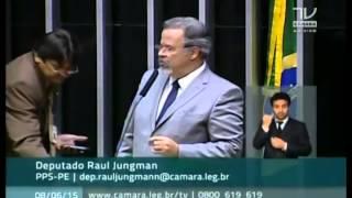 Dep. Raul Jungman fala sobre problemas na Transnordestina Logística em Palmares e ida à Venezuela