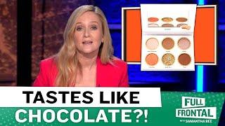 Sam Reviews Reese's New Chocolate Makeup Line