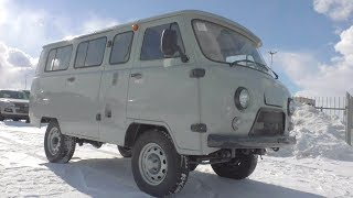 2018 UAZ 220695. Start Up, Engine, and In Depth Tour.