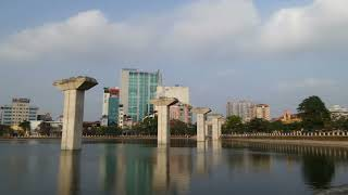 preview picture of video 'Hanoi Metro Subway (Dong Da Lake)'