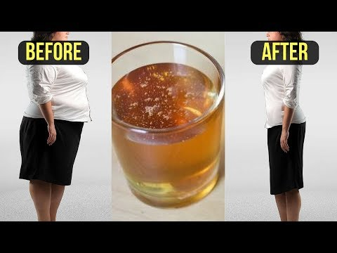 Just Boil 2 Ingredients & Drink This Before Bedtime and Loss Weight Overnight!