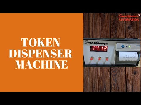 Queue Management Token Dispenser