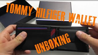 Tommy Hilfiger wallet JOHNSON MINI CC FLAP COIN POCKET AM0AM00662 unboxing
