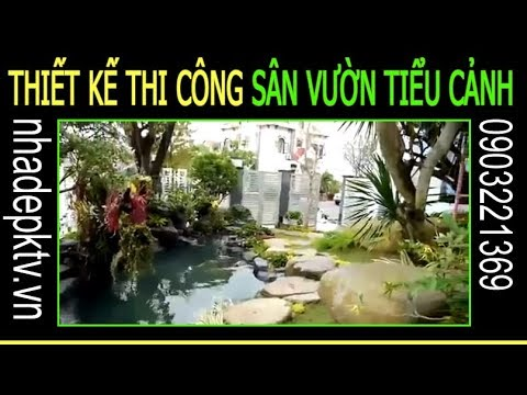 Thiết kế sân vườn