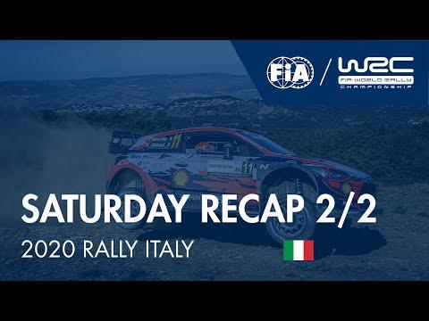 WRC ラリー・イタリア・サルディニア 土曜日に行われたラリーダイジェスト動画2