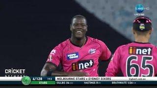 Melbourne Stars v Sydney Sixers, BBL|07
