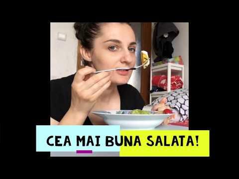 0 Salată de creveți, castraveți și avocado cu sos de miso