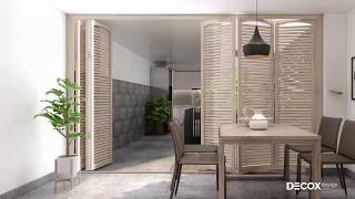 Mẫu thiết kế nội thất nhà phố phong cách Minimalist
