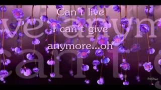 Without You   Mariah Carey  (With Lyrics)