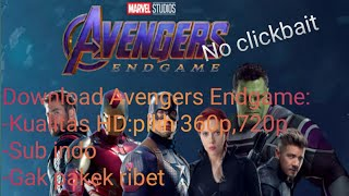 avengers endgame full movie download link sub indo - TH-Clip