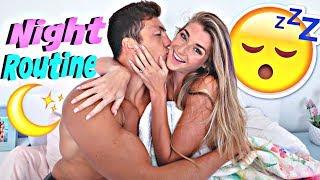 Engaged Couple Night Routine! *Jatie Vlogs After Dark*