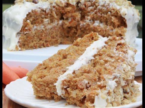 Video Gluten-Free Carrot Cake (Moist & Fluffy)