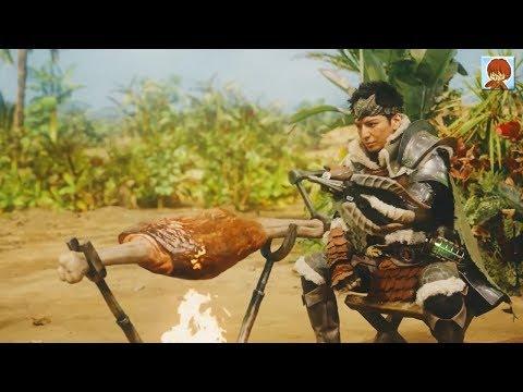 魔物獵人世界 x 三得利 拍魔物獵人真人廣告!生田斗真、二階堂富美、池松壯亮