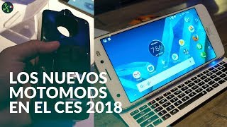 Nuevos Moto Mods para 2018: monitor de salud y un teclado físico