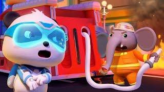 Chú voi cứu hỏa bị thương   Biệt đội siêu cứu hộ Kiki & Miumiu   Hoạt hình thiếu nhi   BabyBus