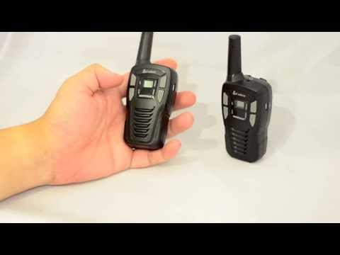 Cobra MT245 PMR446 two way radio unboxing review