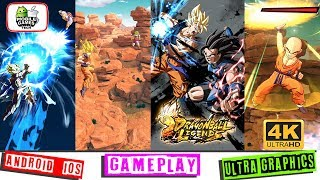 Dragon Ball Legends Out Now Android iOS First Gameplay 4k 60fps