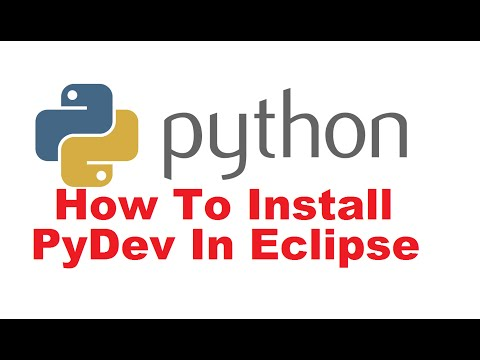 How to Install Python and PyDev Plugin in Eclipse + Create a Simple PyDev Project examples