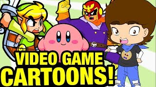 Top 7 BEST Video Game CARTOONS and ANIME! - ConnerTheWaffle