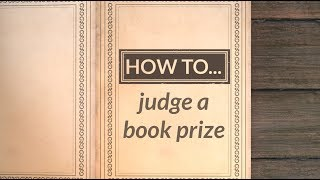 How to judge a book prize