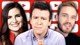 "PewDiePie Demi Lovato Meme Controversy, House Impeachment Drama, & Fox News ""Stands With"" CNN..."
