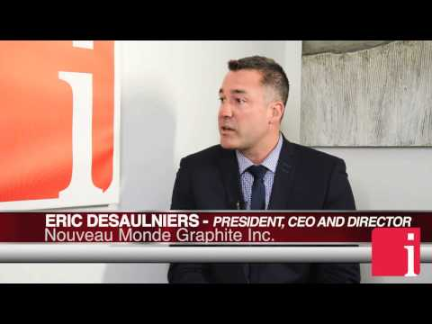 Nouveau Monde Graphite CEO on adding another half a dozen li ... Thumbnail