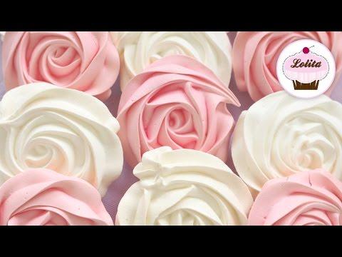 Crea Las Mejores Rosas De Merengue Suizo