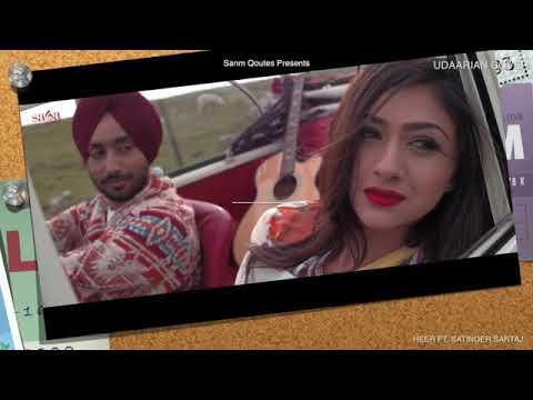 Udaarian | female vocal Satinder Sartaaj | Jatinder Shah | Sufi Love Songs | fame tube