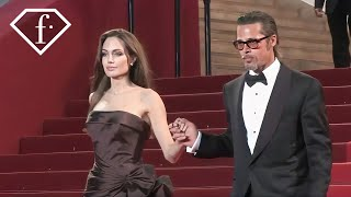 Brad Pitt + Angelina Jolie @ The Tree Of Life Premiere, Cannes Film Festival 2011 | FashionTV - FTV