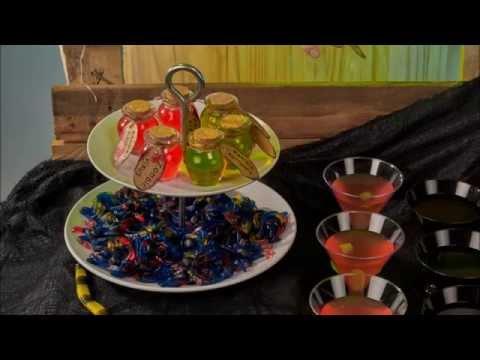 Kleine Glastopf DIY Tutorial für Halloween
