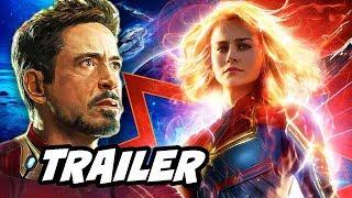 Captain Marvel Trailer Teaser and Avengers 4 Trailer News Breakdown